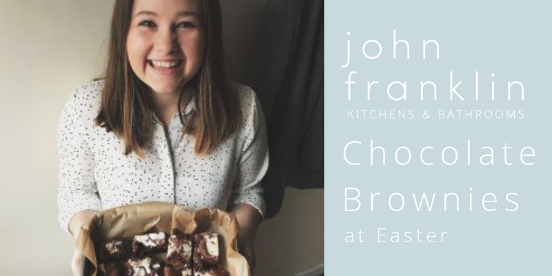 Chocolate Brownies at Easter