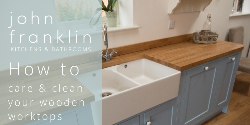 Peachy How To Care And Clean Your Wooden Worktops John Franklin Download Free Architecture Designs Salvmadebymaigaardcom