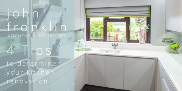4 top tips for your kitchen renovation