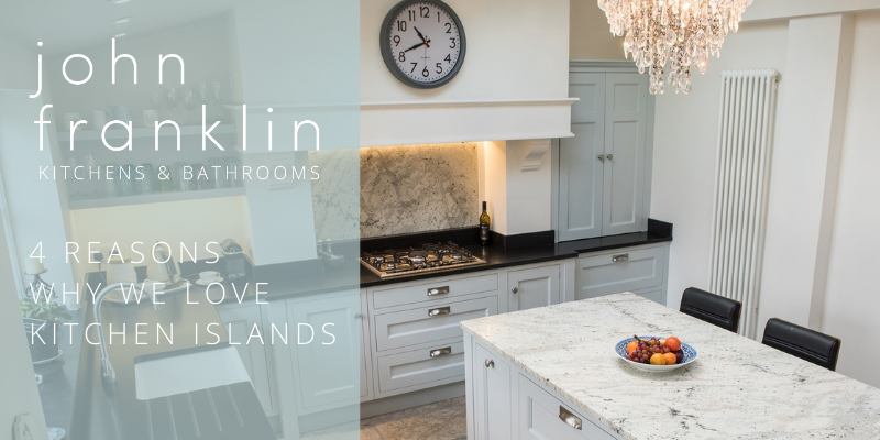4 reasons why we love kitchen islands
